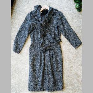 Oscar De la Renta Wool Dress